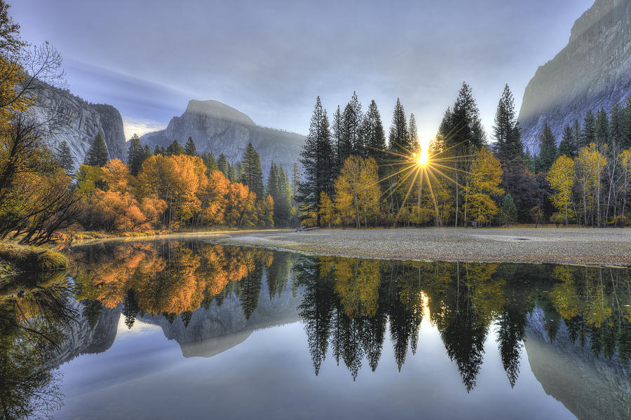 Yosemite Reflections by Mark Whitt