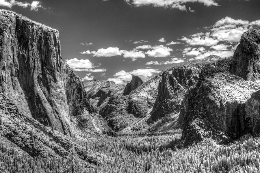 Infra Red Photograph - Yosemite Valley by G Wigler
