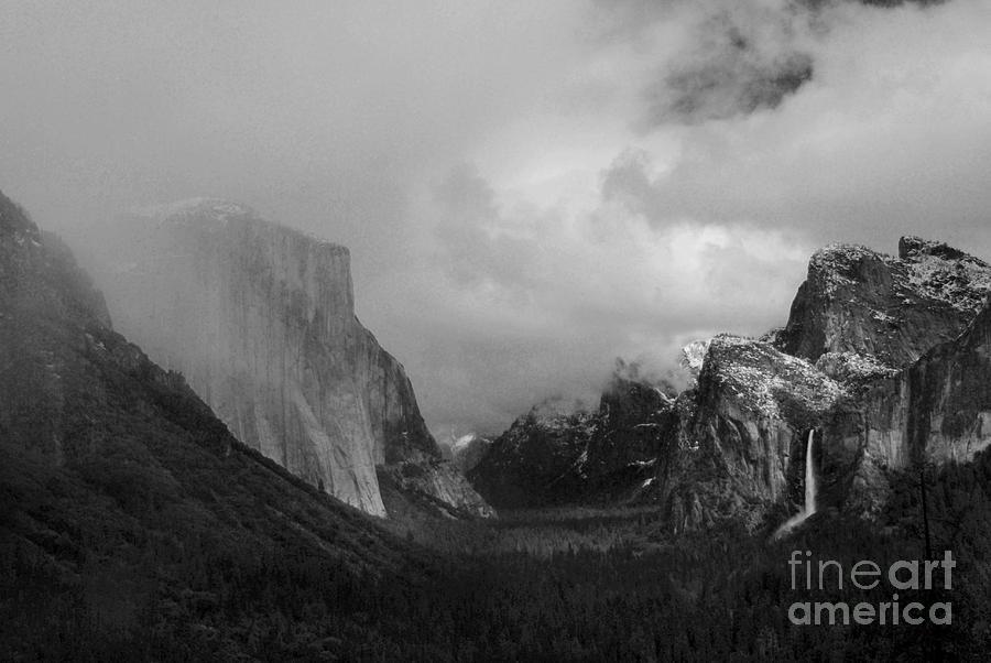 Landscape Photograph - Yosemite Valley by Richard Verkuyl