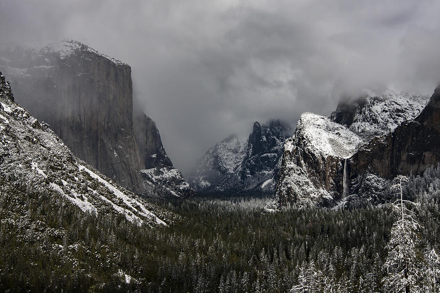 Yosemite Valley Spring Storm Photograph