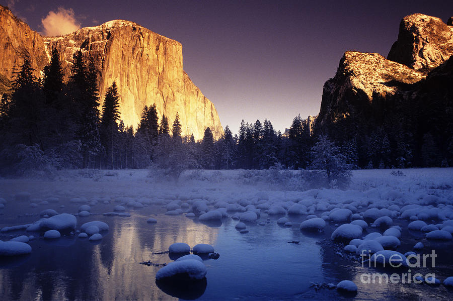 Afternoon Photograph - Yosemite Valley Sunset by Michael Howell - Printscapes