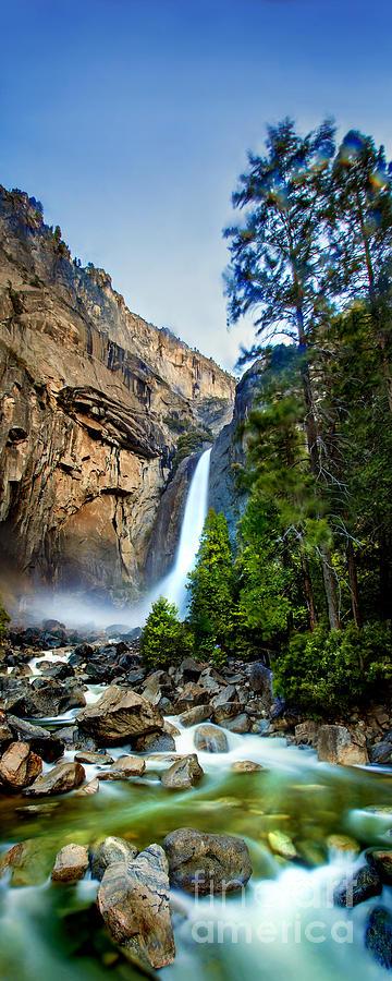 Yosemite Waterfall Photograph