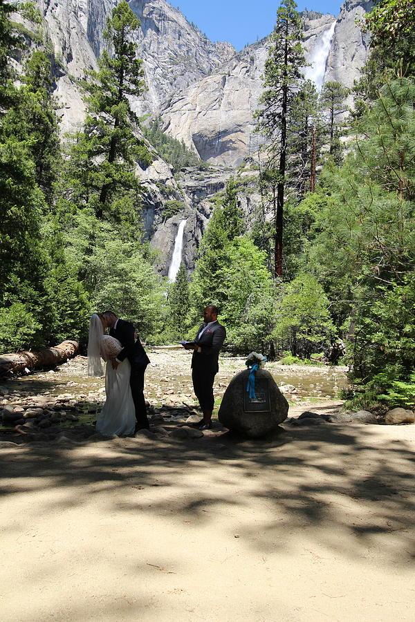Yosemite Wedding  Painting by Travis Day