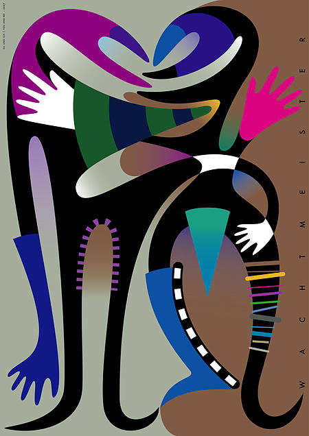 Figuration Digital Art - You And Me by Bernd Wachtmeister