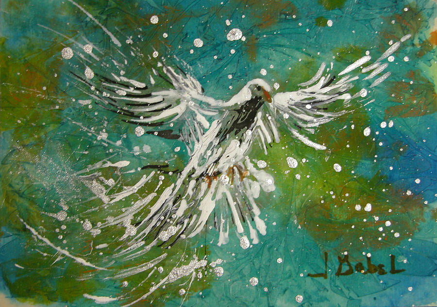Acrylic Pastel - You Are His Masterpiece by Laura Gabel