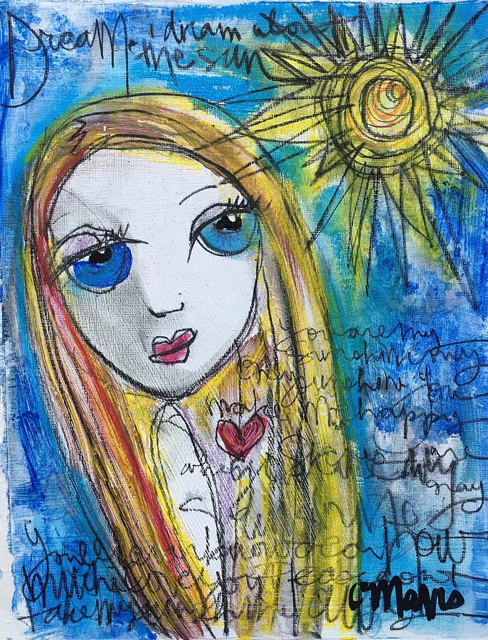 Sun Painting - You Are My Sunshine  by Laurie Maves ART