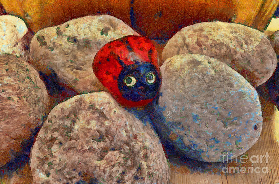 Ladybug Photograph - You Are Special  by Claire Bull