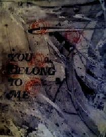 Love Painting - You Belong To Me A Book Of Musical Compositions By Rebecca Tacosa Gray  by Rebecca Tacosa Gray