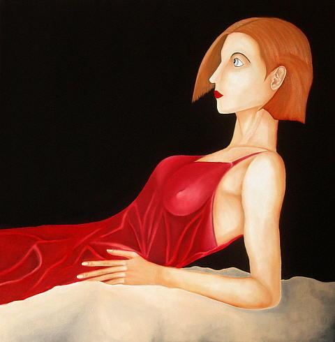 You Broke My Will Tonight Painting by Joao Carita