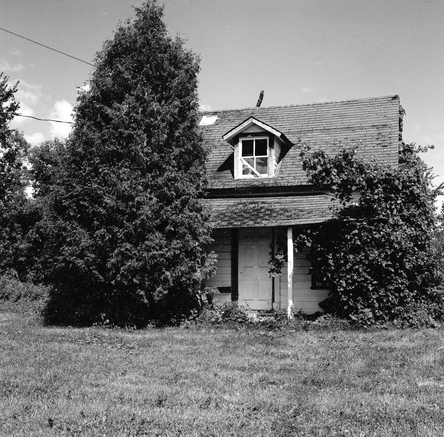 Abandoned Farmhouse Photograph - You Can Open Your Presents Now. by Richard Stanford