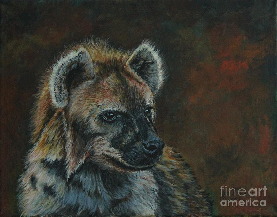 You Don't See Me Laughing......Hyena by Bob Williams