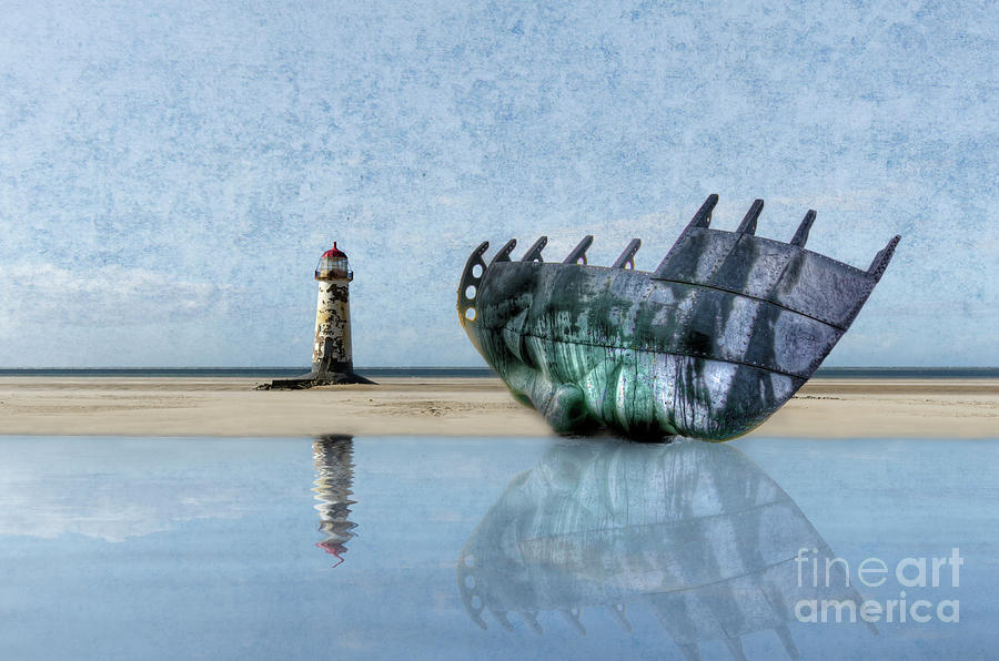 Talacre Digital Art - You Let Me Down by Steev Stamford