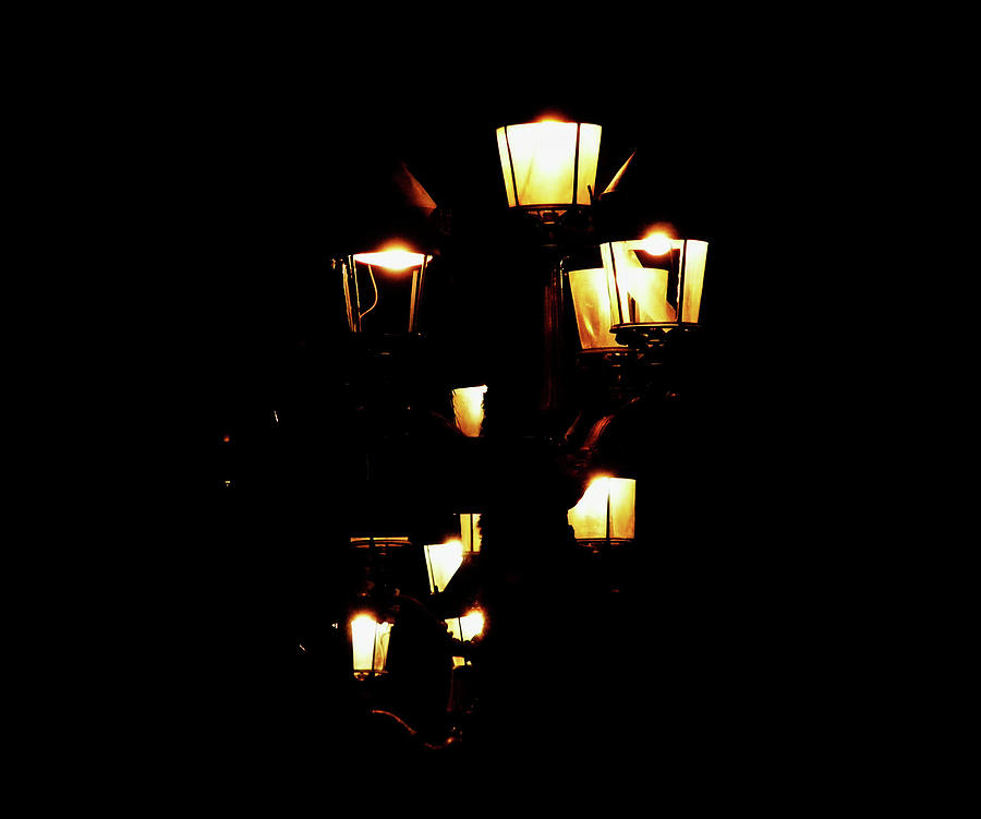 Lamps Photograph - You Light Up My Life by Wilma Stout