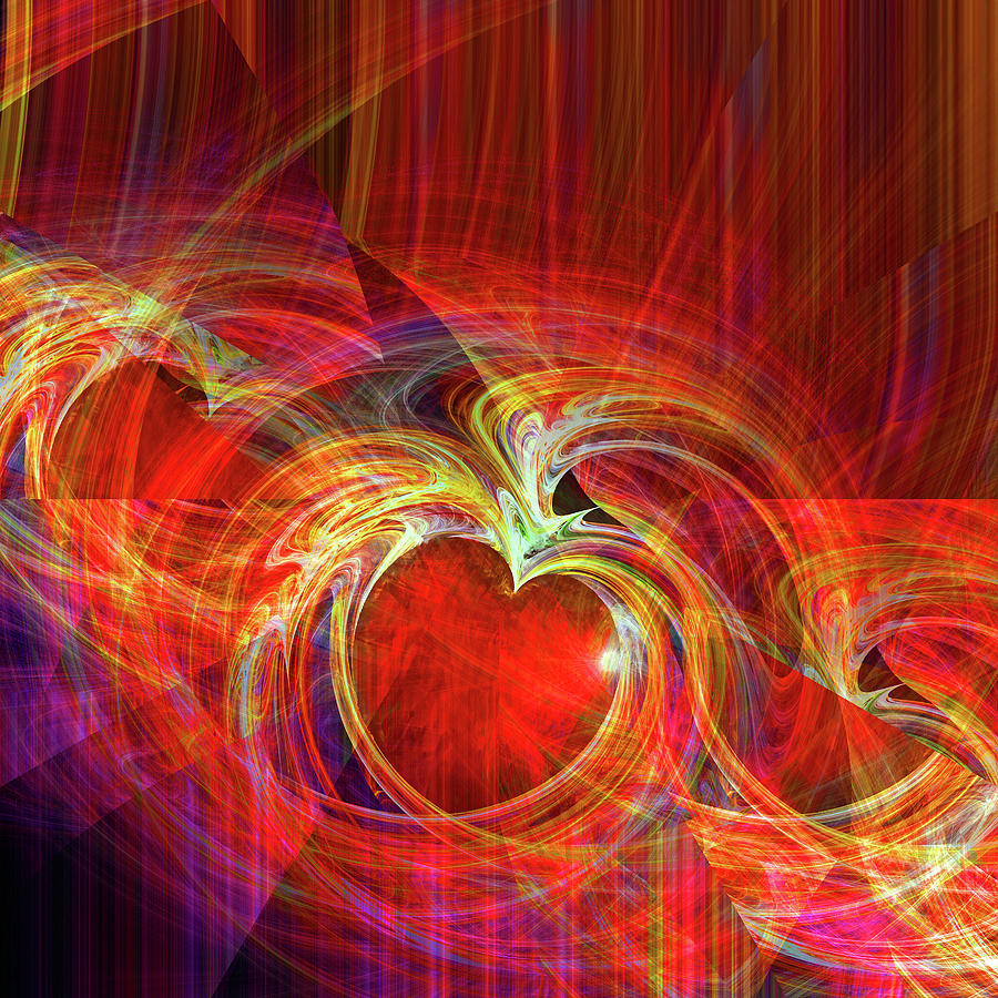Digital Digital Art - You Make Me Feel Whole by Michael Durst