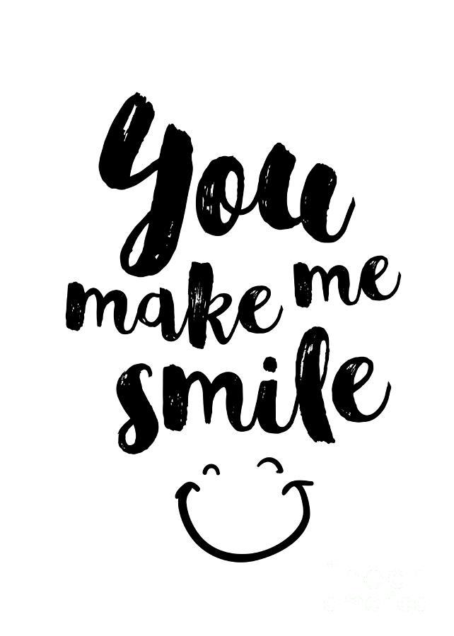 You Make Me Smile Digital Art By Dear Dear
