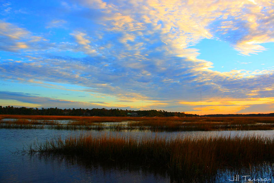 Landscape Photograph - You Paint The Morning Sky by Jill Tennison