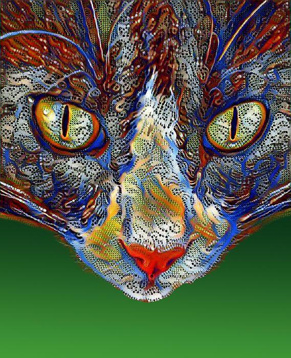 Cat Digital Art - You So Bad by Steve Kobb