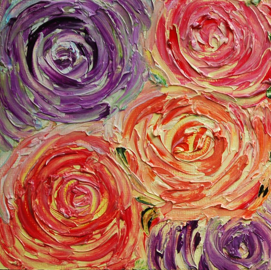 Palette Knife Painting - You by Vivian Gutierrez