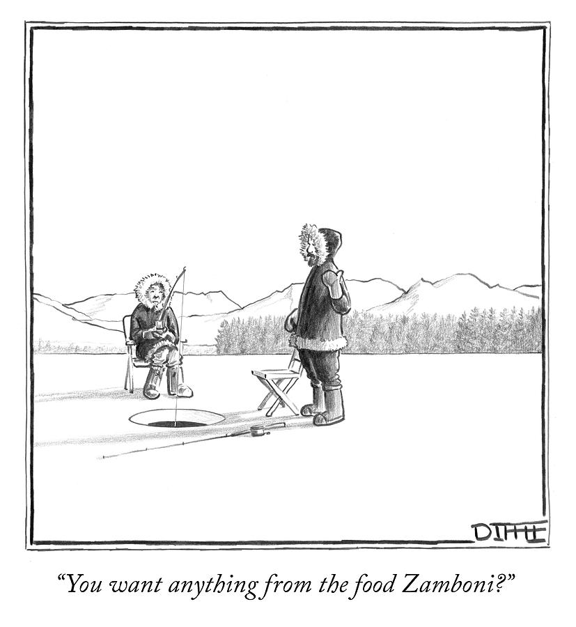 you want anything from the food zamboni by matthew diffee