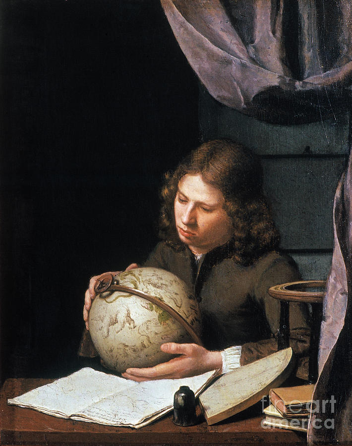 Astronomer Photograph - Young Astronomer by Granger