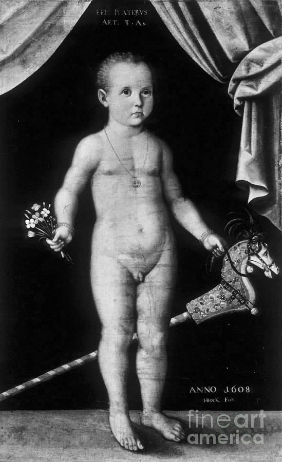 Science Photograph - Young Felix Plater, Swiss Physician by Science Source