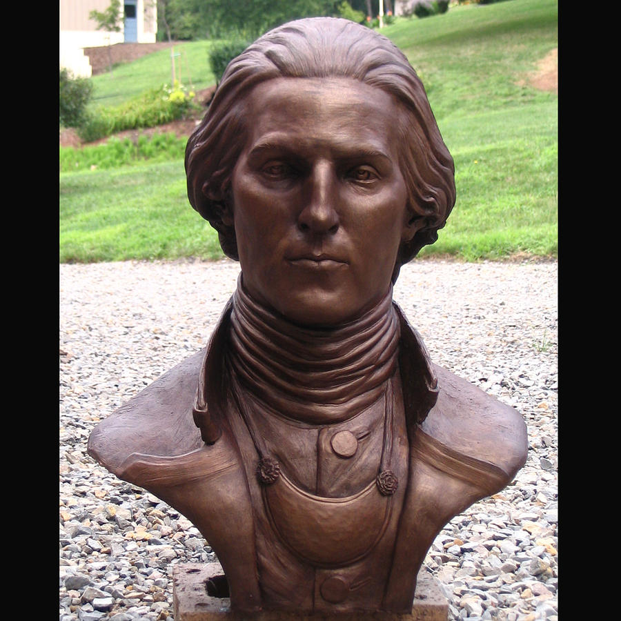 George Washington Sculpture - Young George by Bryan Rapp