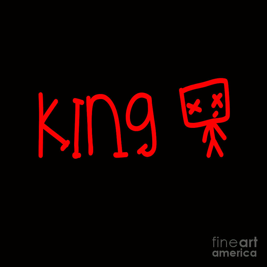 Young King Digital Art - Young King by Respect the Queen