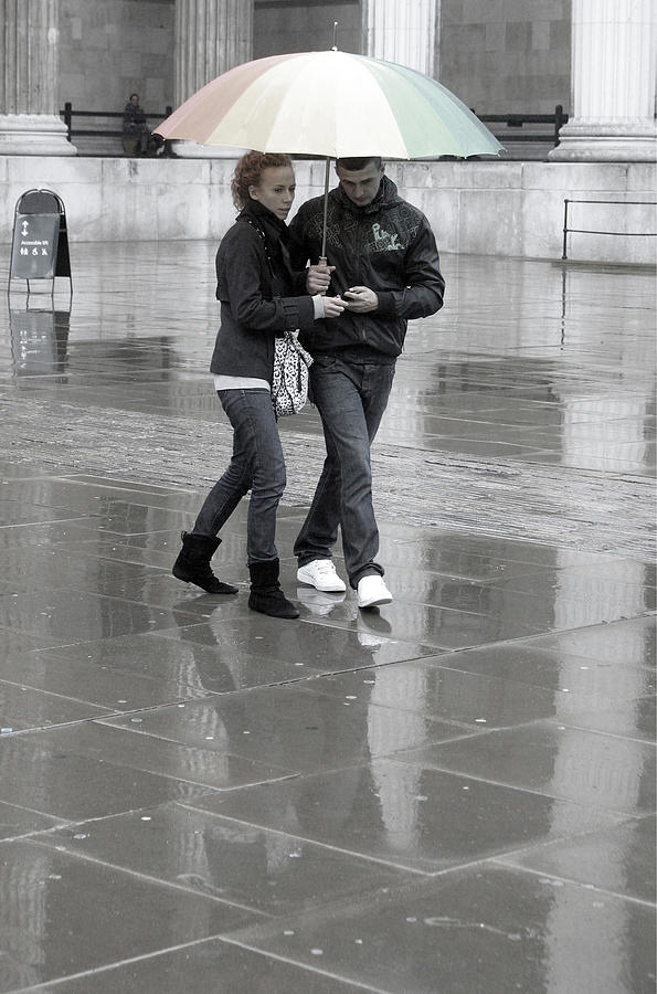 Photographer Photograph - Young Love Under The Weather by Jez C Self