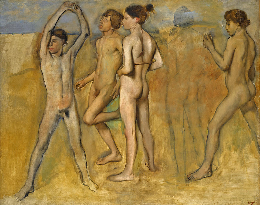 Nude boys in art — photo 11