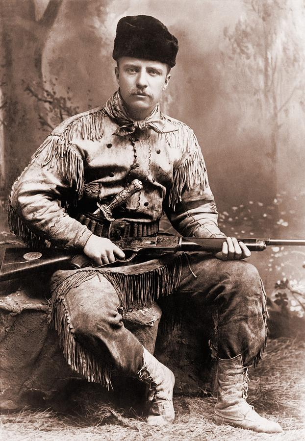 History Photograph - Young Theodore Roosevelt Dressed by Everett