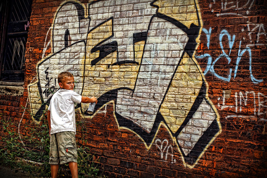 Young Photograph - Young Vandal Too by Gordon Dean II