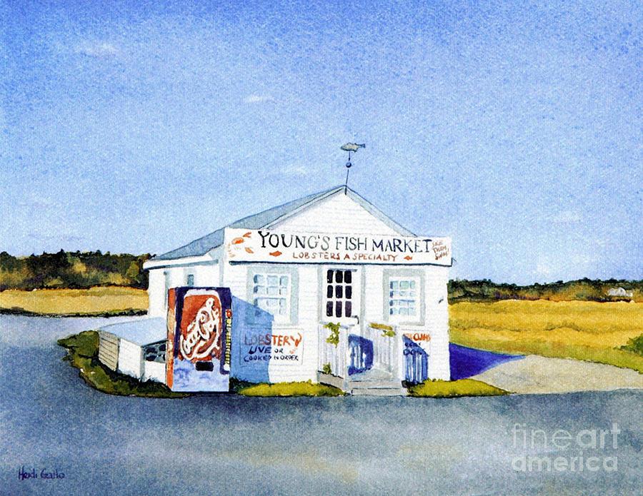 Young's Fish Market by Heidi Gallo