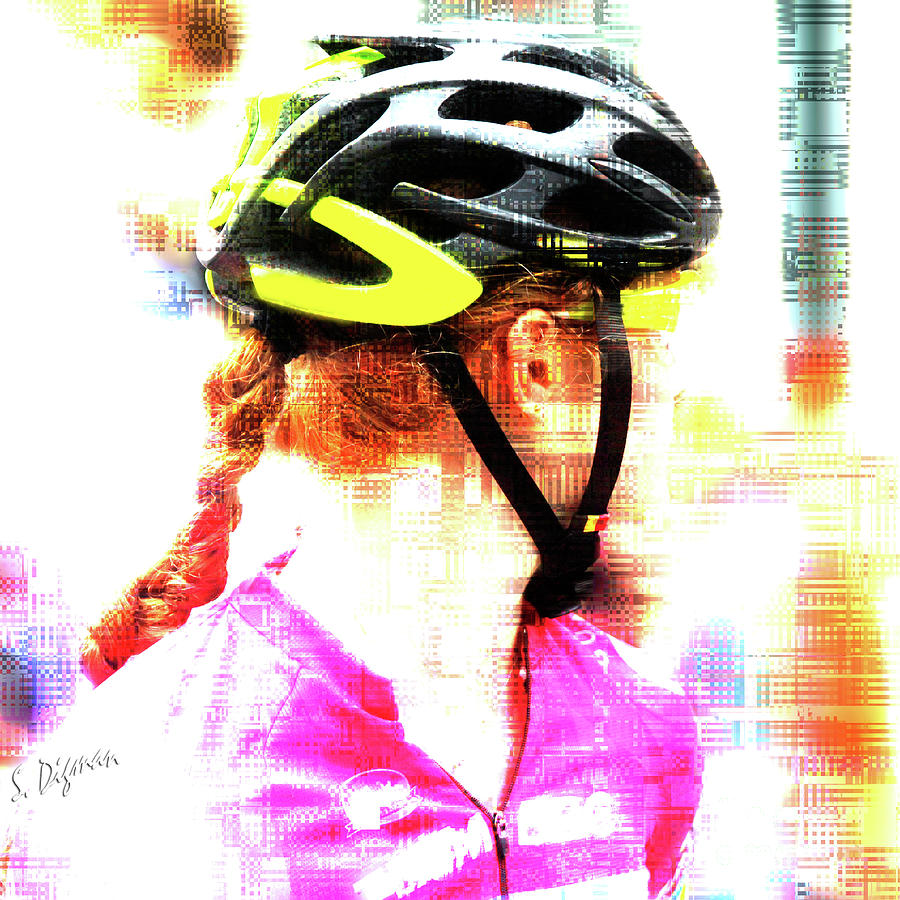 Bicycle Photograph - Your Brain On Bike  by Steven Digman