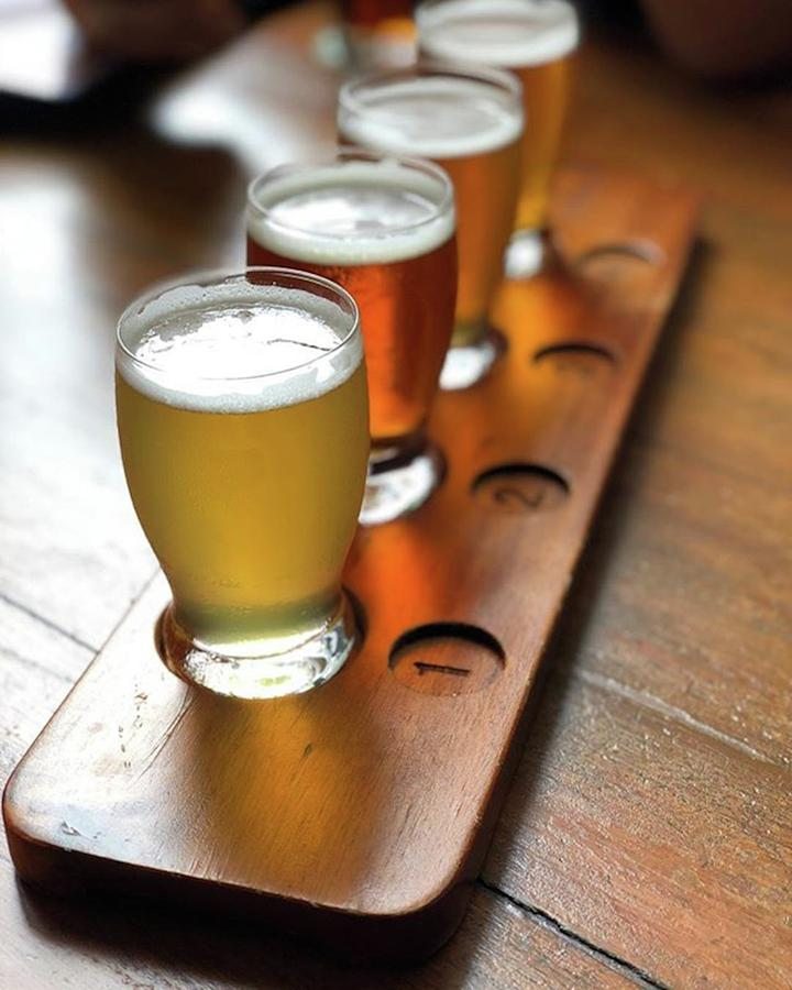 Your Choice Of Four Draft Beers From Photograph by Arya Swadharma