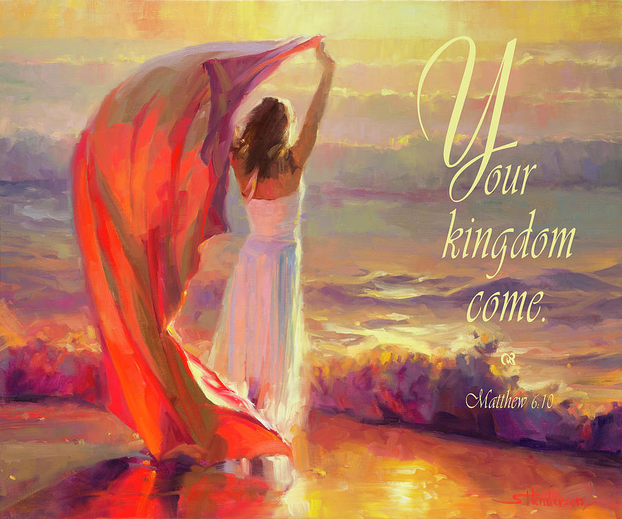 Christian Digital Art - Your Kingdom Come by Steve Henderson