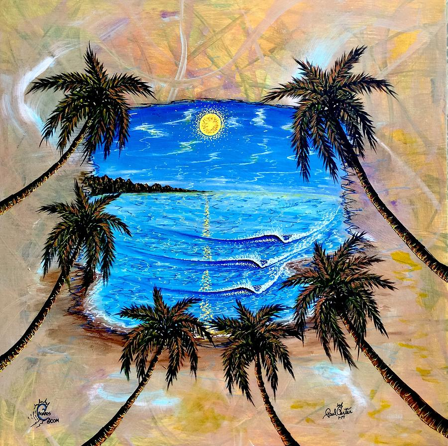 Tropical Painting - Your Vision by Paul Carter