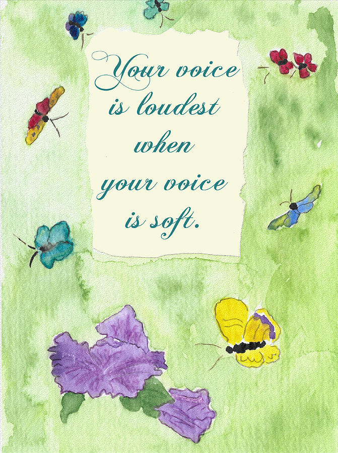 Your Voice Painting