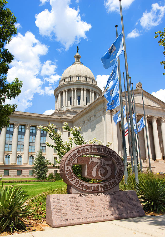 Administration Photograph - Youre Doin Fine Oklahoma by Ricky Barnard