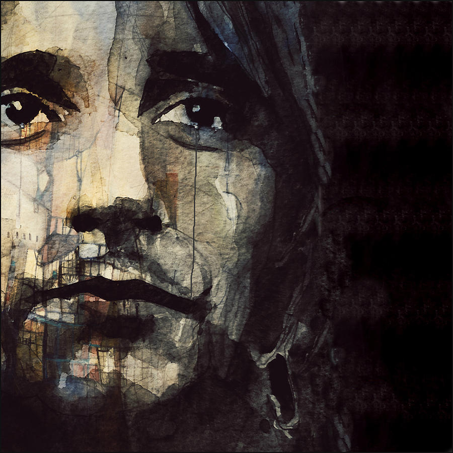 Rod Stewart Painting - Youre In My Heart  by Paul Lovering