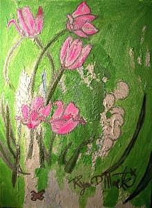 Flowers Painting - Yours Truely by Ryan D Mack