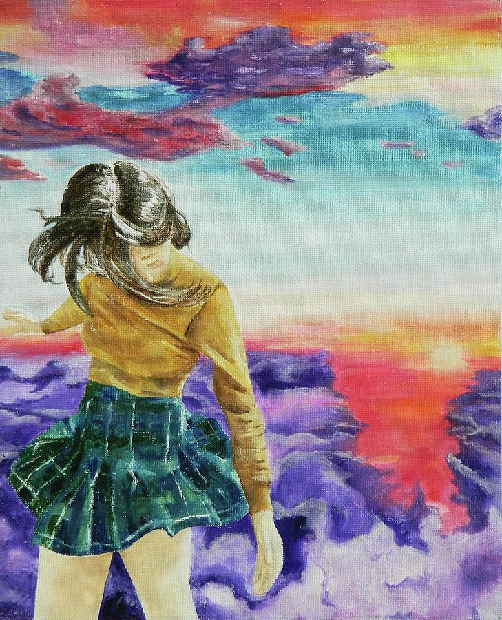 Sky Painting - Youth by Uma Samudrala