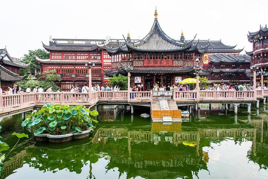 Yu Garden, Shanghai Photograph by Paul Martin