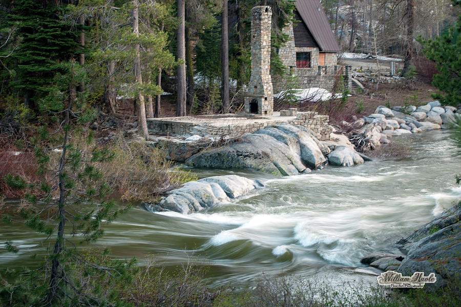 Yuba River At Rainbow Lodge by William Havle