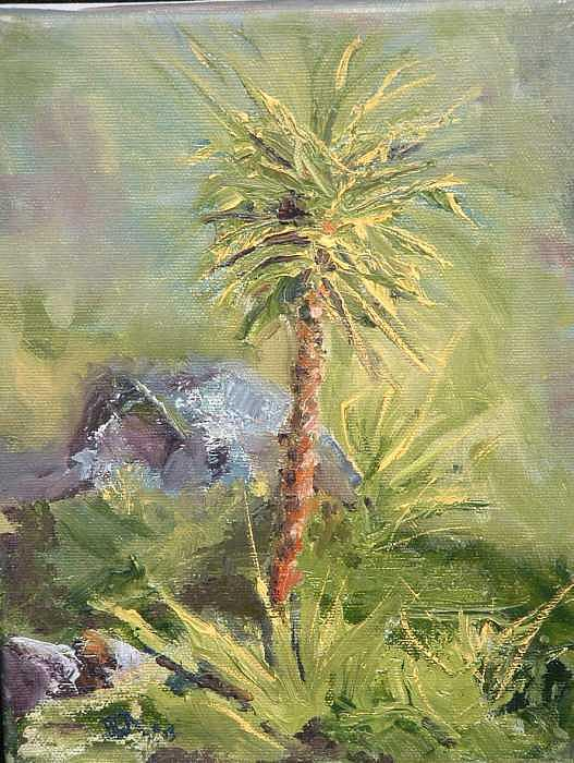 Yucca Painting - Yucca by Bryan Alexander