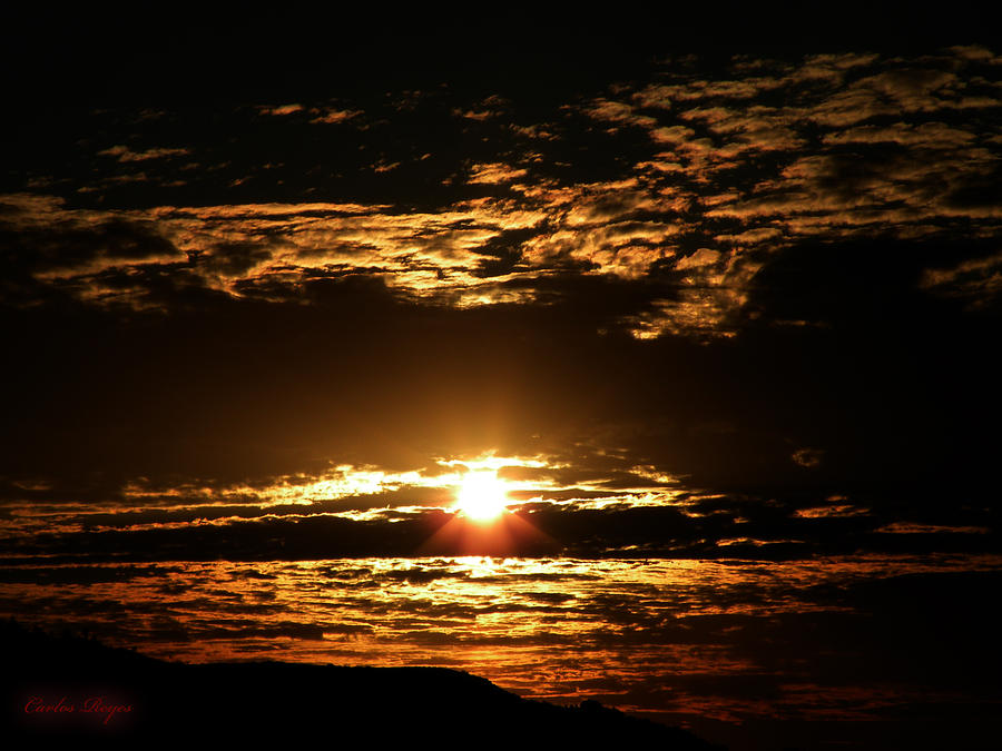 Photograph - Yucca Valley Desert Sunrise by Carlos Reyes
