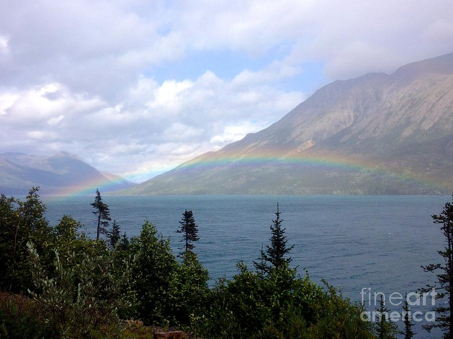 Yukon Rainbow by Barbara Von Pagel
