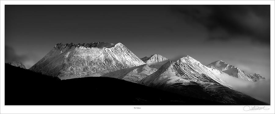 Volcanos Photograph - Yukon Volcano by Lar Matre