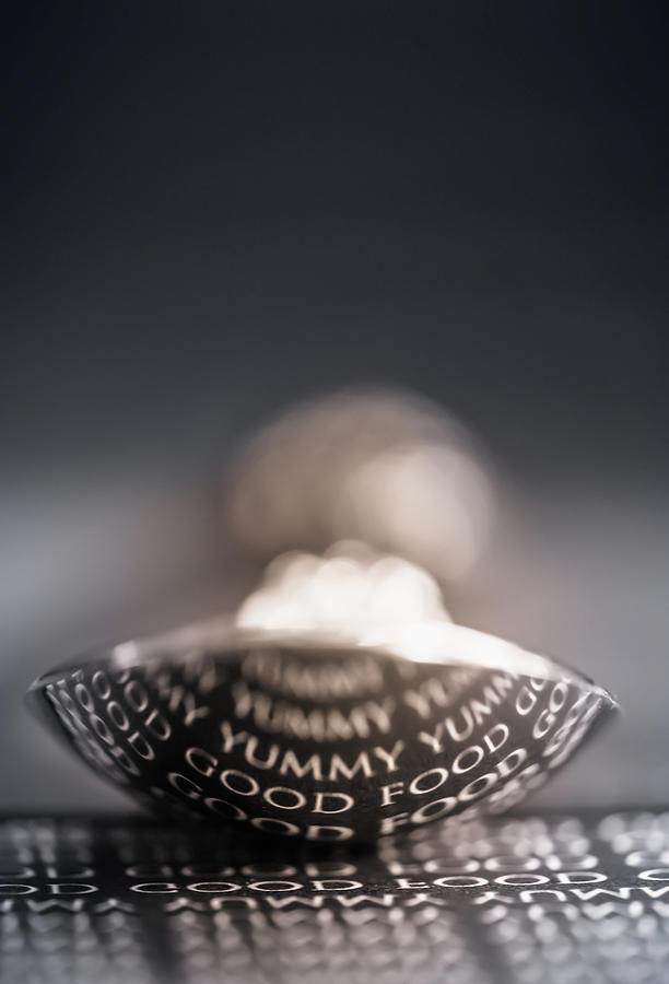 Spoon Photograph - Yummy  by Maggie Terlecki