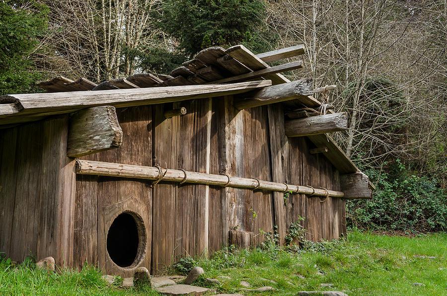 Yurok Housing Photograph By Greg Nyquist