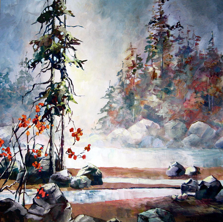 Yvettes Dream Painting by Bonny Roberts